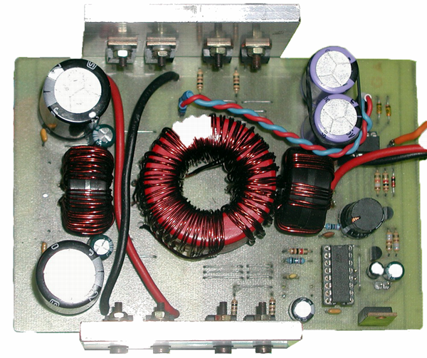 Switch Mode Power Supply (SMPS) for Car Amplifiers.