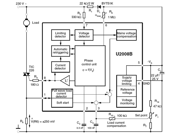 Electronica-Projects Ac Motor Control Schematic Diagram on